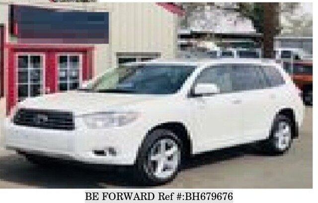 Used 2008 TOYOTA HIGHLANDER BH679676 for Sale