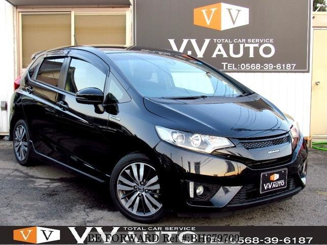 Used 2013 HONDA FIT HYBRID BH679700 for Sale