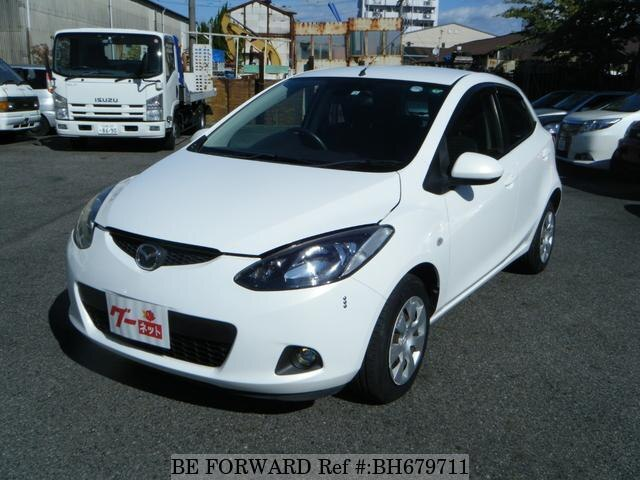 Used 2010 MAZDA DEMIO BH679711 for Sale