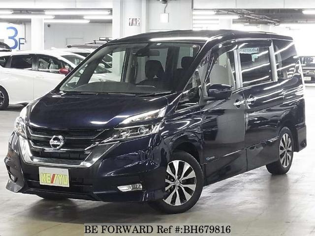 Used 2017 NISSAN SERENA BH679816 for Sale