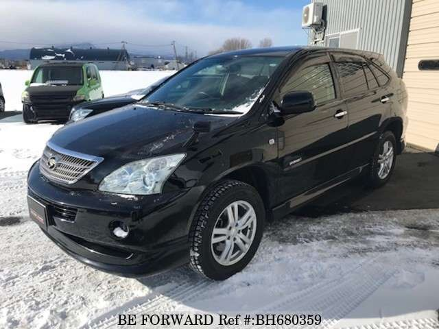Used 2011 TOYOTA HARRIER HYBRID BH680359 for Sale