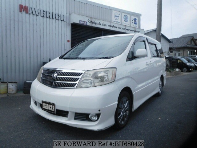 Used 2005 TOYOTA ALPHARD BH680428 for Sale