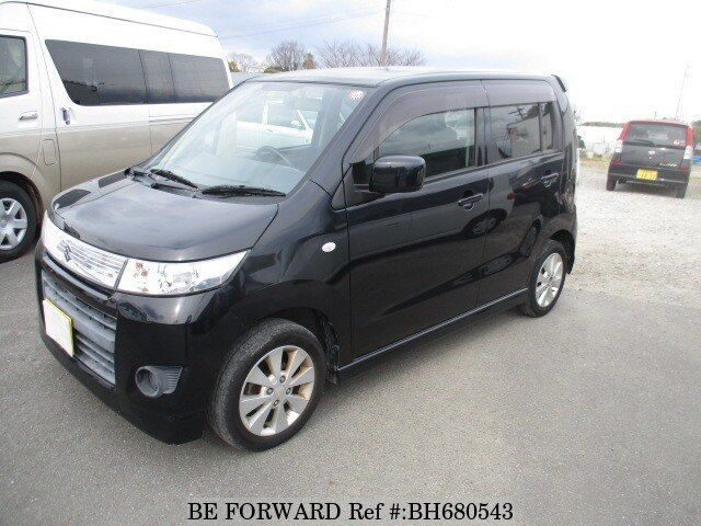 Used 2010 SUZUKI WAGON R BH680543 for Sale