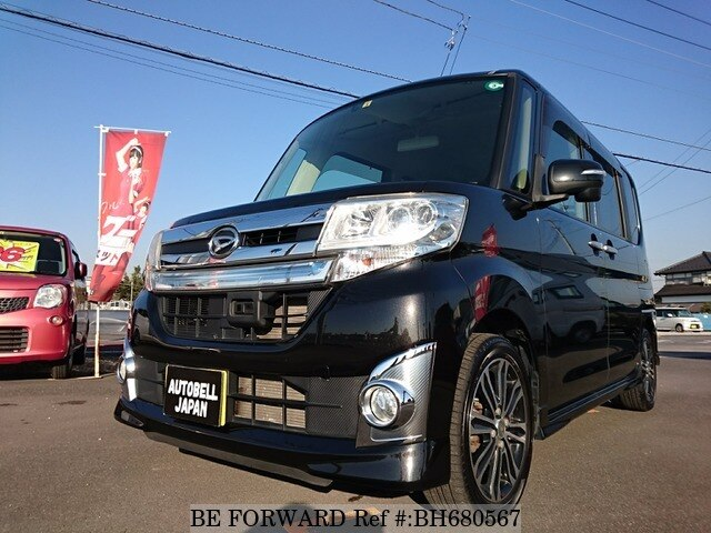 Used 2014 DAIHATSU TANTO CUSTOM BH680567 for Sale