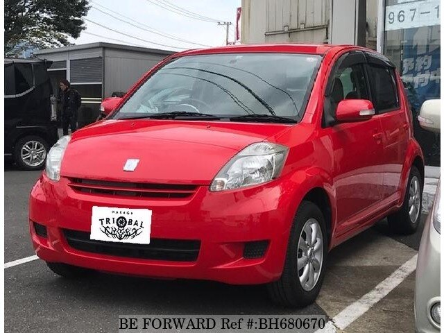 Used 2008 TOYOTA PASSO BH680670 for Sale