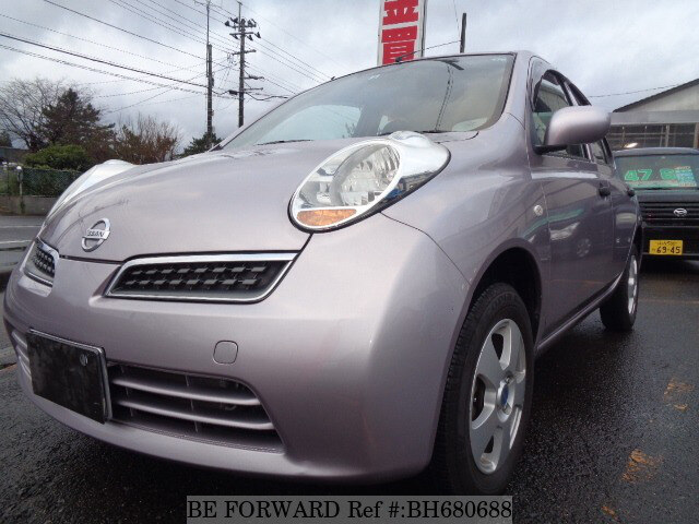 Used 2010 NISSAN MARCH BH680688 for Sale