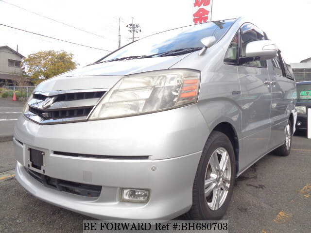 Used 2008 TOYOTA ALPHARD HYBRID BH680703 for Sale