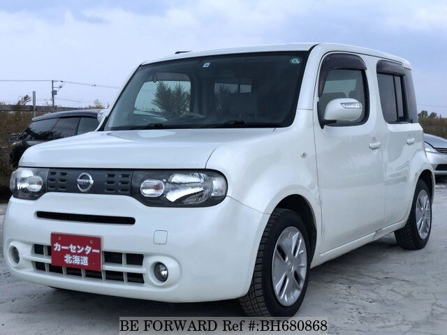 Used 2010 NISSAN CUBE BH680868 for Sale