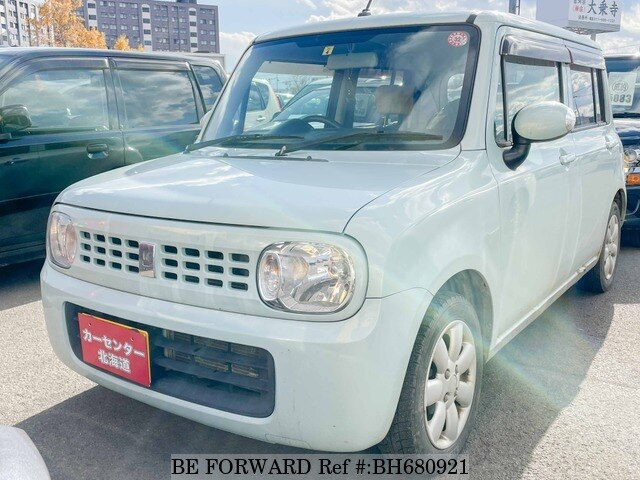 Used 2010 SUZUKI ALTO BH680921 for Sale