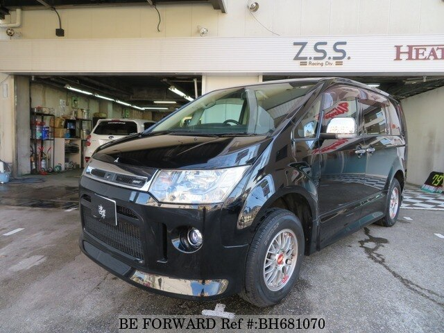 Used 2010 MITSUBISHI DELICA D5 BH681070 for Sale