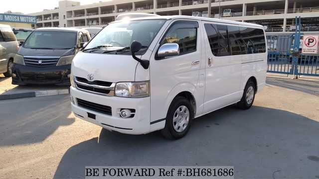 Used 2008 TOYOTA HIACE VAN BH681686 for Sale