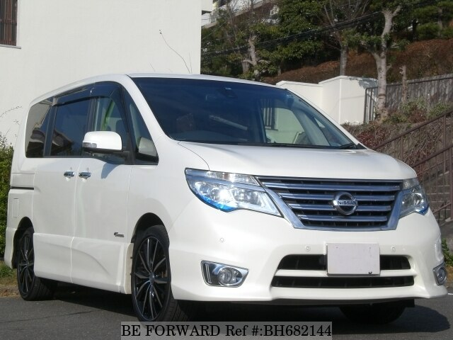 Used 2015 NISSAN SERENA BH682144 for Sale