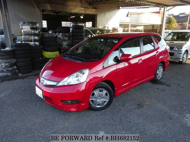 Used 2013 HONDA FIT SHUTTLE BH682152 for Sale