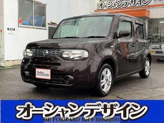 Used 2012 NISSAN CUBE BH682591 for Sale