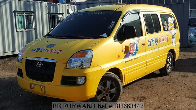 Used 2004 HYUNDAI STAREX BH683442 for Sale