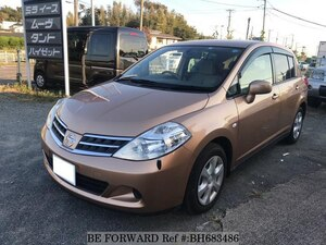 Used 2009 NISSAN TIIDA BH683486 for Sale