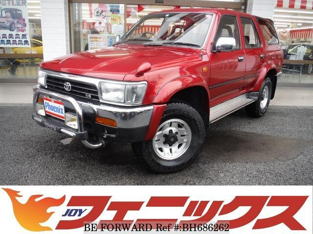 Used 1992 TOYOTA HILUX SURF BH686262 for Sale