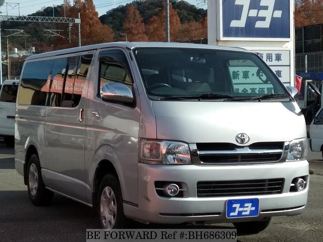 Used 2006 TOYOTA HIACE VAN BH686309 for Sale