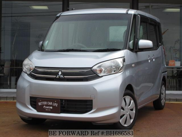 Used 2014 MITSUBISHI EK SPACE BH686583 for Sale