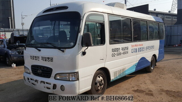 Used 2001 HYUNDAI COUNTY BH686642 for Sale