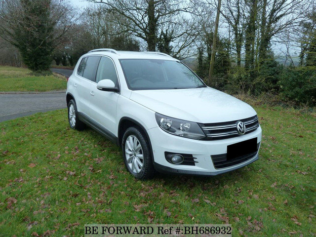 Used 2014 VOLKSWAGEN TIGUAN BH686932 for Sale