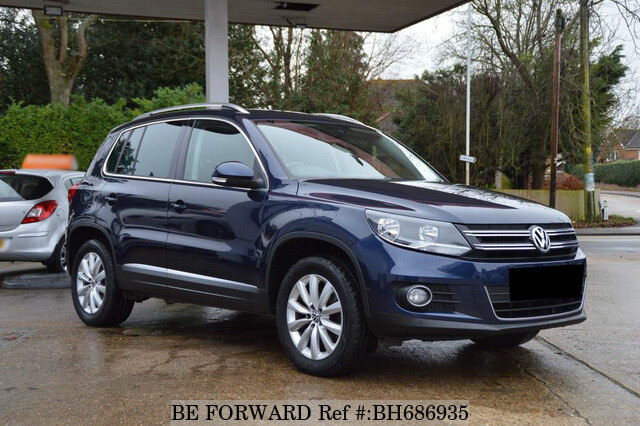 Used 2014 VOLKSWAGEN TIGUAN BH686935 for Sale