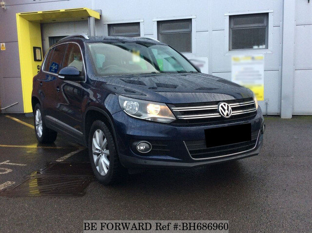 Used 2013 VOLKSWAGEN TIGUAN BH686960 for Sale