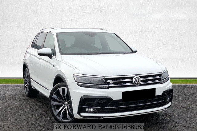 Used 2020 VOLKSWAGEN TIGUAN BH686985 for Sale
