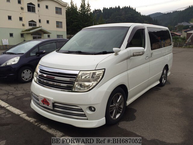 Used 2009 NISSAN ELGRAND BH687052 for Sale