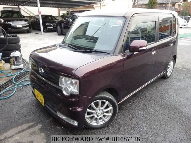 Used 2009 DAIHATSU MOVE CONTE BH687138 for Sale