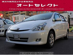 Used 2006 TOYOTA WISH BH687175 for Sale