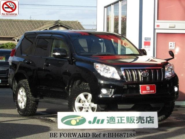 Used 2013 TOYOTA LAND CRUISER PRADO BH687188 for Sale