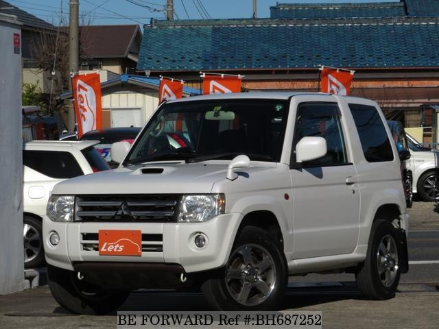 Used 2009 MITSUBISHI PAJERO MINI BH687252 for Sale