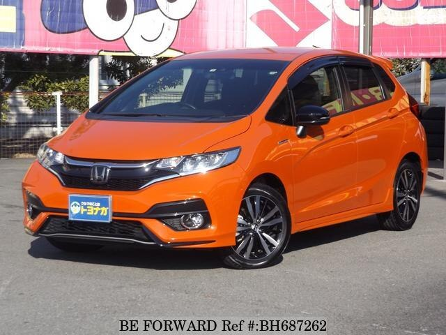 Used 2018 HONDA FIT HYBRID BH687262 for Sale