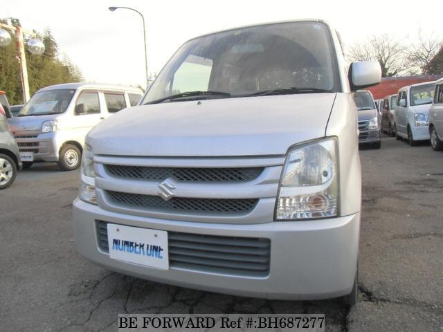 Used 2007 SUZUKI WAGON R BH687277 for Sale
