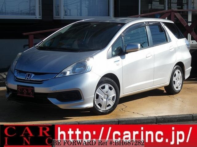 Used 2014 HONDA FIT SHUTTLE HYBRID BH687282 for Sale