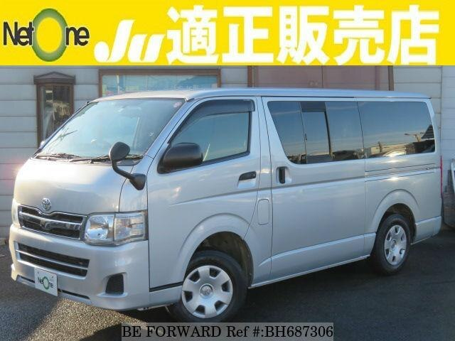 Used 2010 TOYOTA HIACE VAN BH687306 for Sale