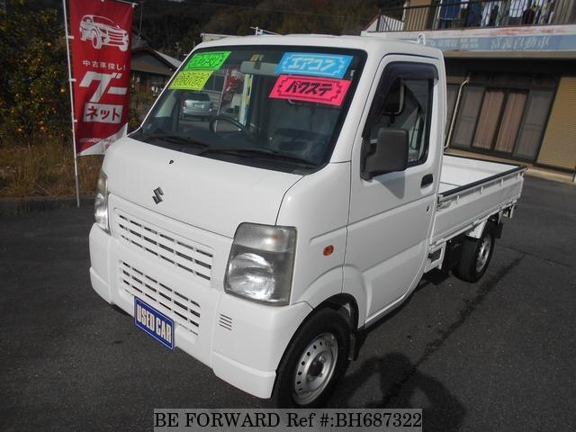 Used 2011 SUZUKI CARRY TRUCK BH687322 for Sale