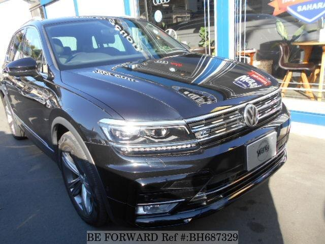 Used 2017 VOLKSWAGEN TIGUAN BH687329 for Sale