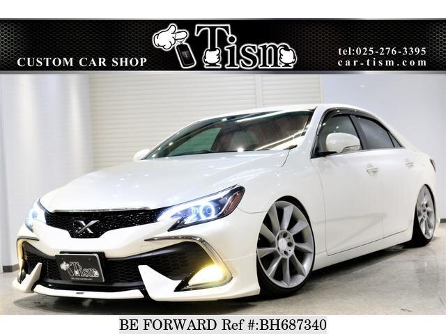 Used 2009 TOYOTA MARK X BH687340 for Sale