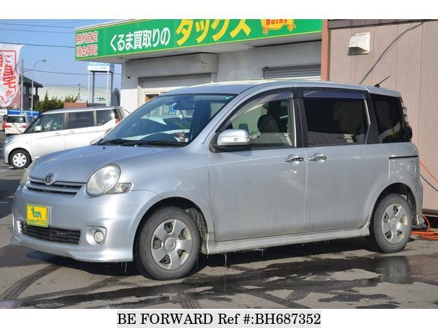 Used 2007 TOYOTA SIENTA BH687352 for Sale