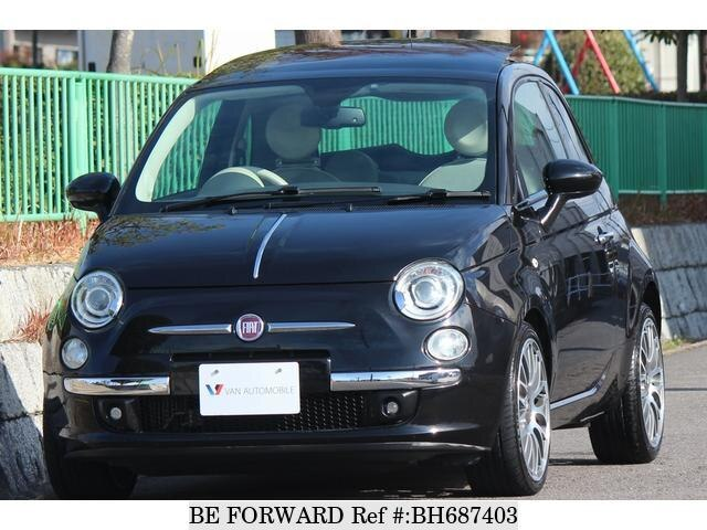 Used 2011 FIAT 500 BH687403 for Sale