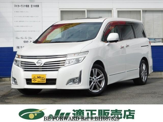 Used 2011 NISSAN ELGRAND BH687529 for Sale