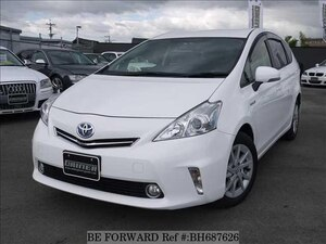Used 2013 TOYOTA PRIUS ALPHA BH687626 for Sale