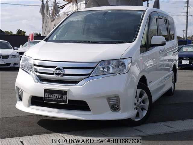 Used 2013 NISSAN SERENA BH687630 for Sale