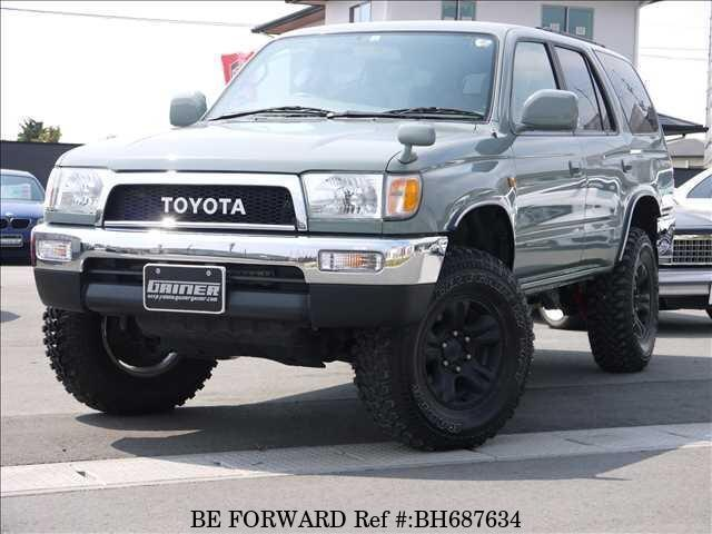 Used 2002 TOYOTA HILUX SURF BH687634 for Sale