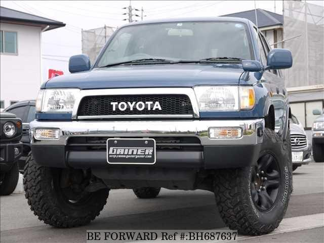 Used 2001 TOYOTA HILUX SURF BH687637 for Sale