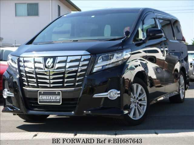 Used 2015 TOYOTA ALPHARD BH687643 for Sale