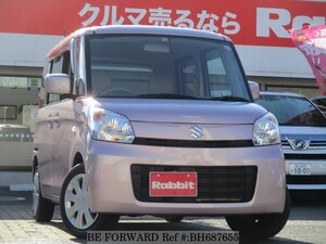 Used 2014 SUZUKI SPACIA BH687655 for Sale