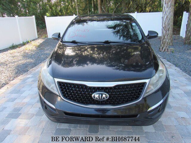 Used 2016 KIA SPORTAGE BH687744 for Sale